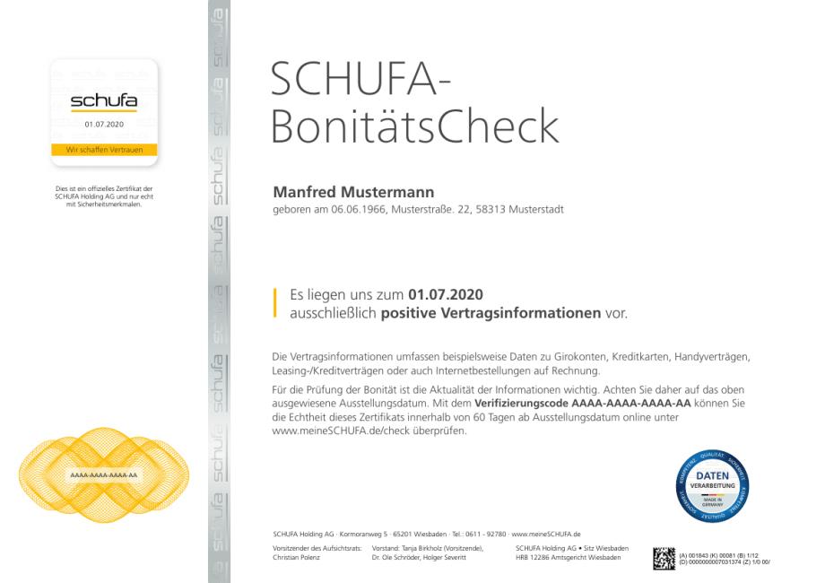 Schufa Bonitatscheck Kasseler Sparkasse