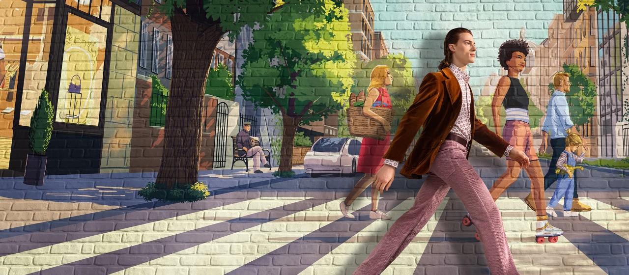 Junges Paar isst mit Tischdecke und Kerze in Ihrem Haus während es noch eine Baustelle ist.